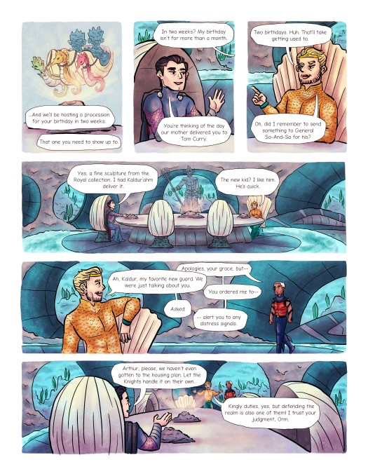 5. Finished Page 1